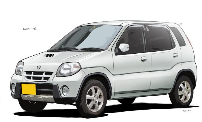 スズキ Keiの車検費用
